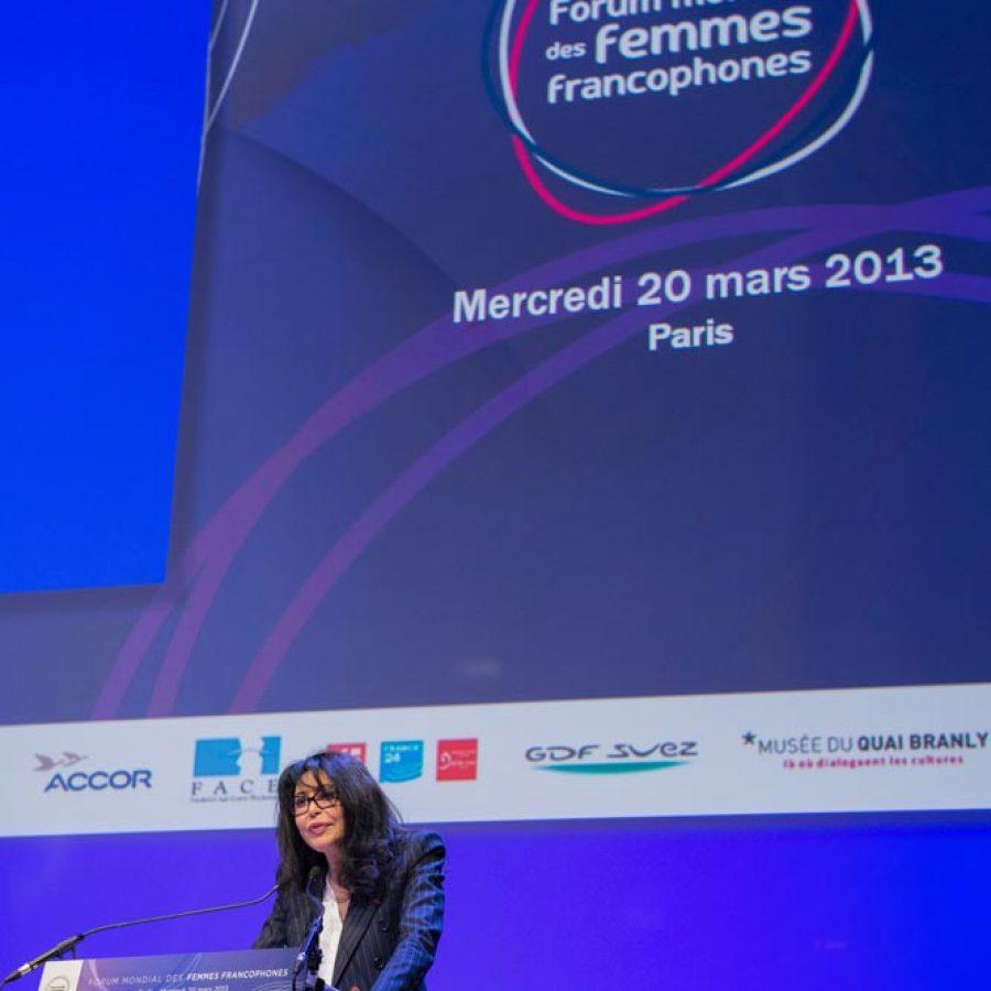 YAMINA BENGUIGUI – DISCOURS FORUM MONDIAL DES FEMMES FRANCOPHONES