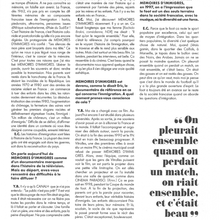 Rencontres Canal + page 7